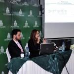 Raúl Amador, Vicepresidente de Invercasa Puesto de Bolsa y Jenny Parrales, Agente corredor.